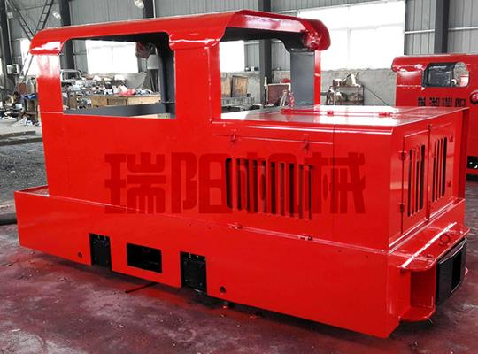 CCG5.0/600/762/900型矿用防爆柴油机钢轮机车